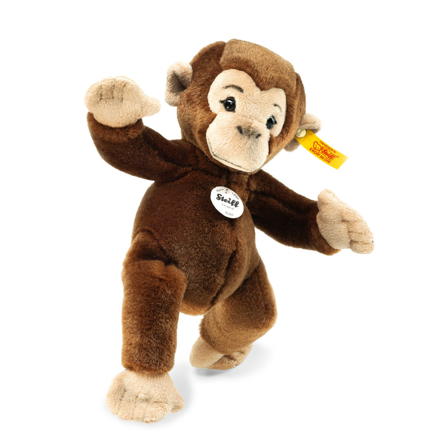 STEIFF Schimpanse Koko, braun 20 cm