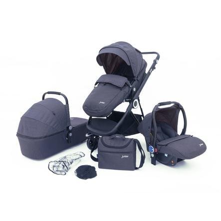 petex 3-in-1 Wózek dziecięcy Multi Traveller grey