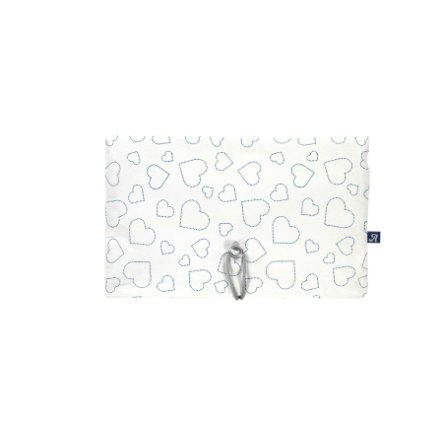 Alvi ® Bolsa de pañales Heart s white
