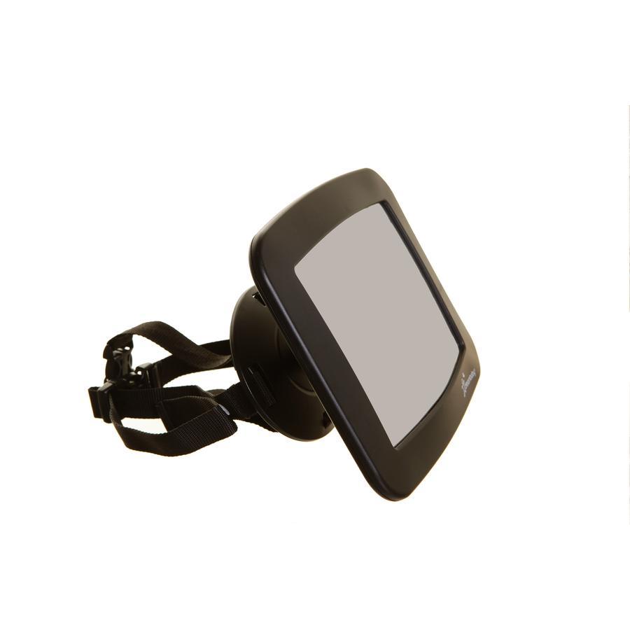 Dreambaby® großer verstellbarer Rücksitz-Autospiegel, Schwarz