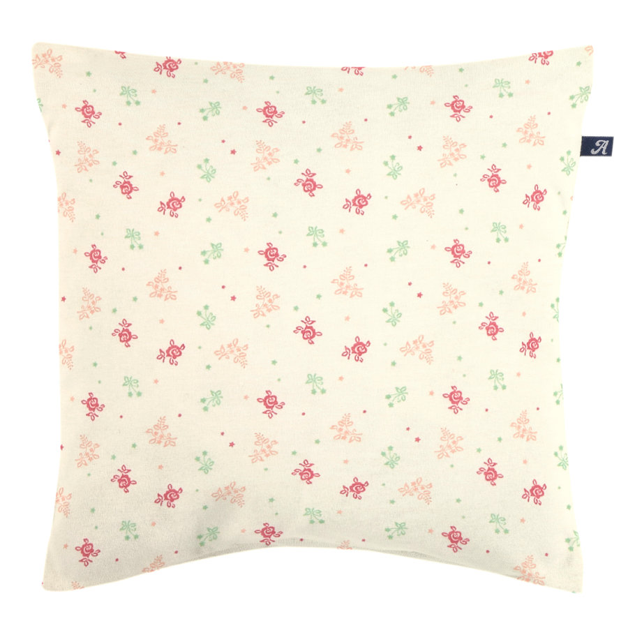 Alvi® Coussin enfant décoratif Rose Garden coton bio