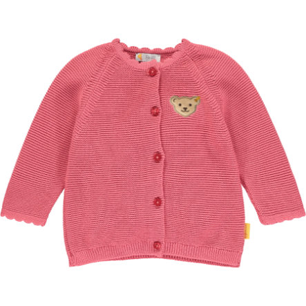 Steiff Girls L'estasi per il cardigan rosa