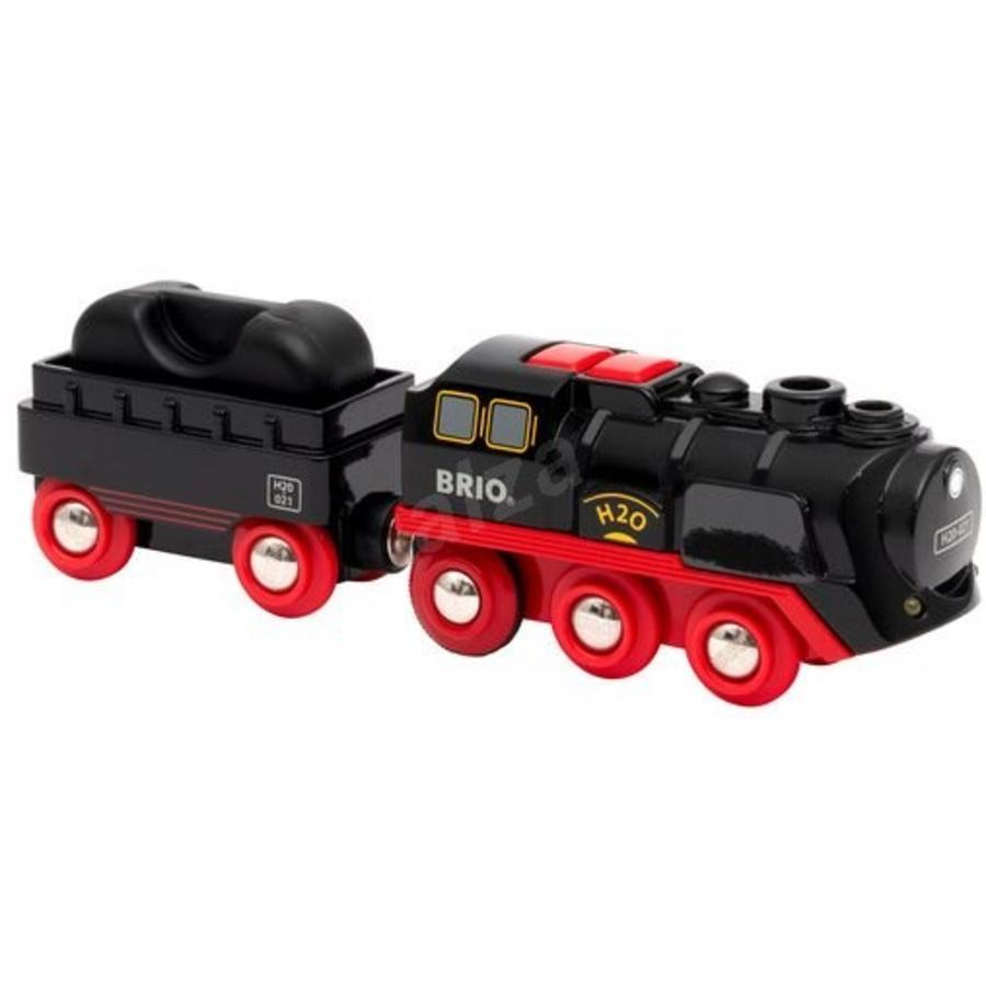 BRIO-damplokomotiv med vanntank