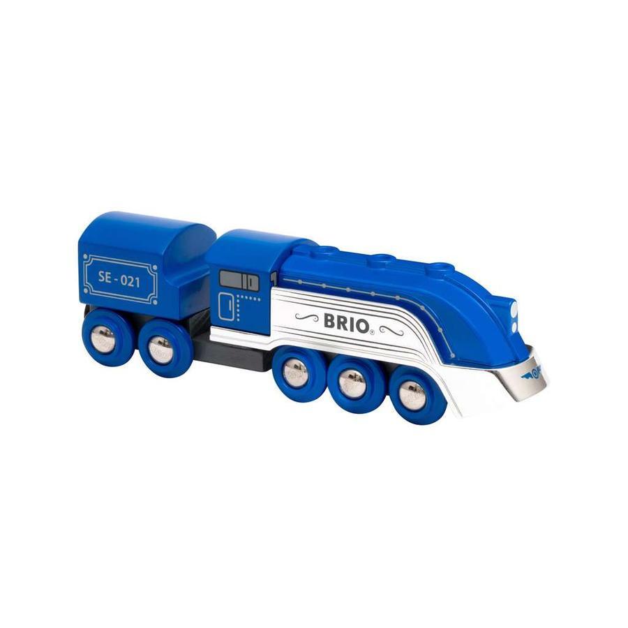 BRIO Blue Steam Train Special Edition 2021