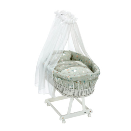 Alvi ® complete basket Birth e witte baby Forest