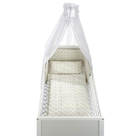 Alvi® Parure de lit enfant à barreaux Star Rain, 3 pièces 100x135 cm