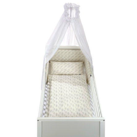 Alvi ® Zestaw łóżek 3-częściowy Star Rain