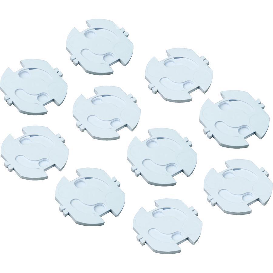 Hartig + Helling Steckdosensicherung KS 10 Weiß