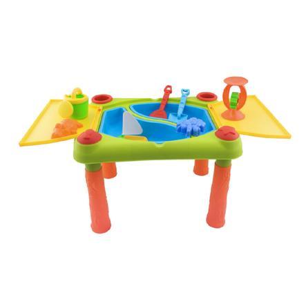 BIECO Stůl, sada, Písek/voda
