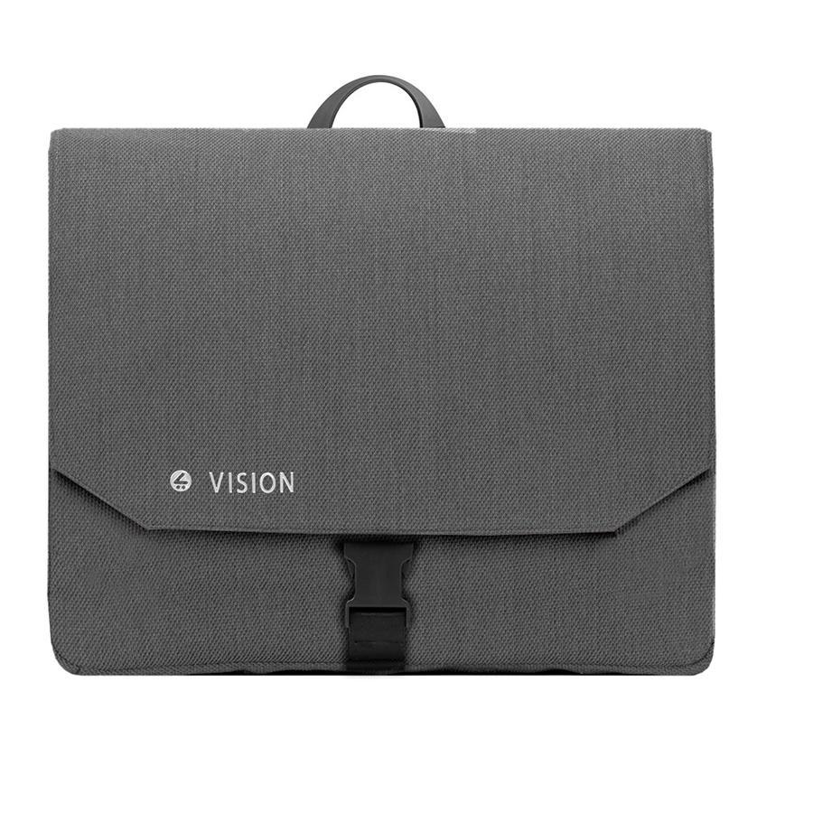 mutsy Wickeltasche Icon Vision Titanium Grey