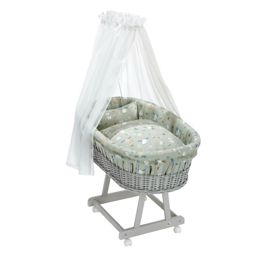 Alvi® Stubenwagengarnitur 3-tlg. Baby Forest