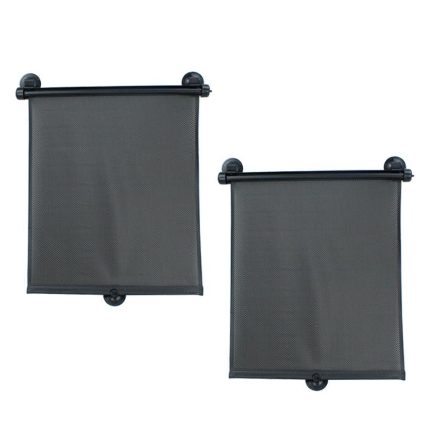 Altabebe Sonnenschutzrollo Doppelpack Schwarz