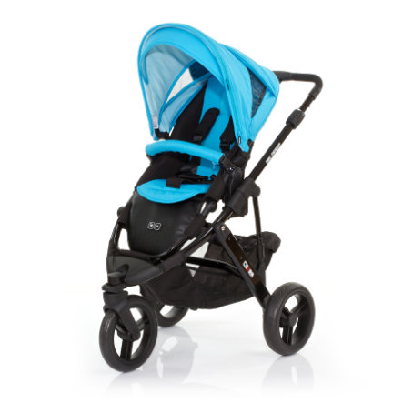 ABC DESIGN Kinderwagen Cobra rio Gestell black / black