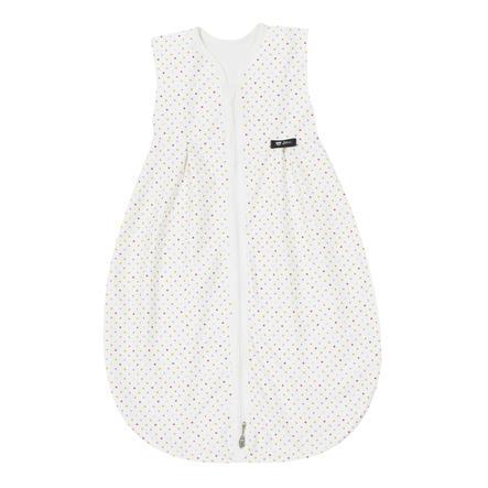 Alvi® Jersey Ganzjahresschlafsack Thermo Bunte Tupfen