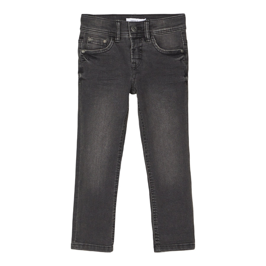 name it Jean enfant NMMSILAS black denim