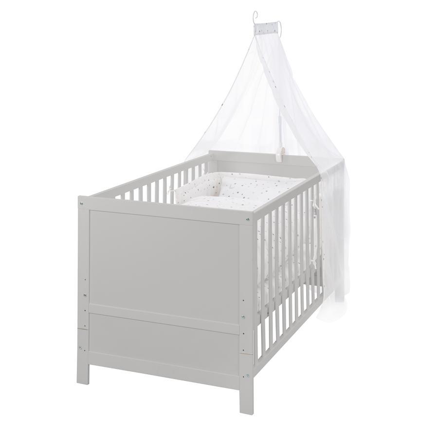 roba Set letto per bambini Starry magic grigio 70x140 cm