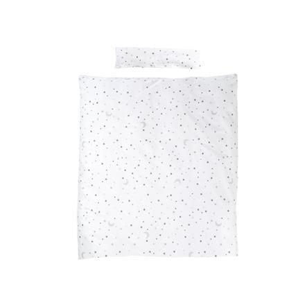 roba Bettwäsche 2-teilig Sternenzauber grau 100 x 135 cm