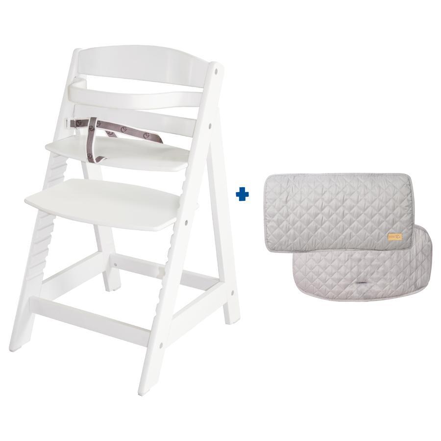 roba Treppenhochstuhl Set Sit Up III inklusive Sitzverkleinerer roba Style grau