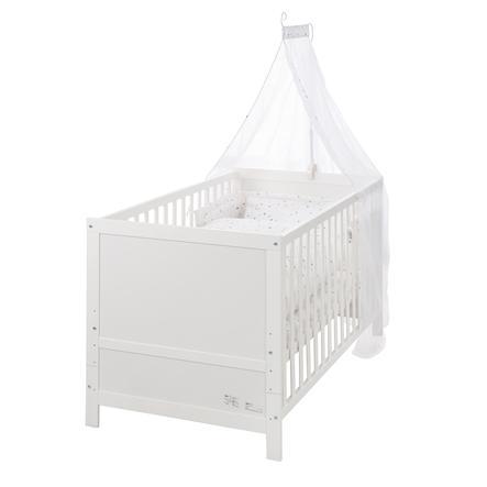 roba Sternenzauber Kinderbettset weiß 70 x 140 cm
