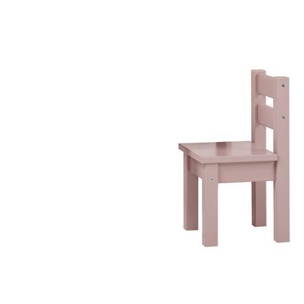 Hoppekids Ensemble table chaises enfant Mads bois Pale Mauve