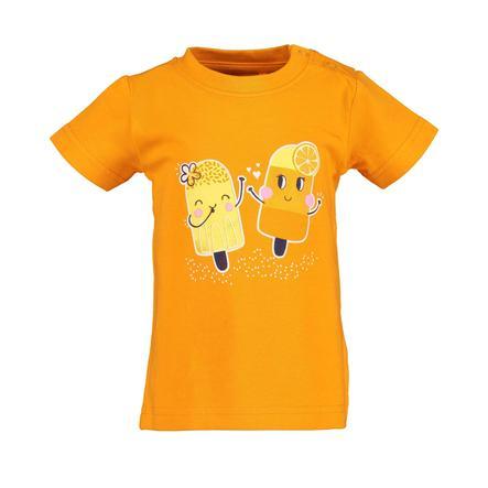 BLUE SEVEN T-Shirt Eis orange