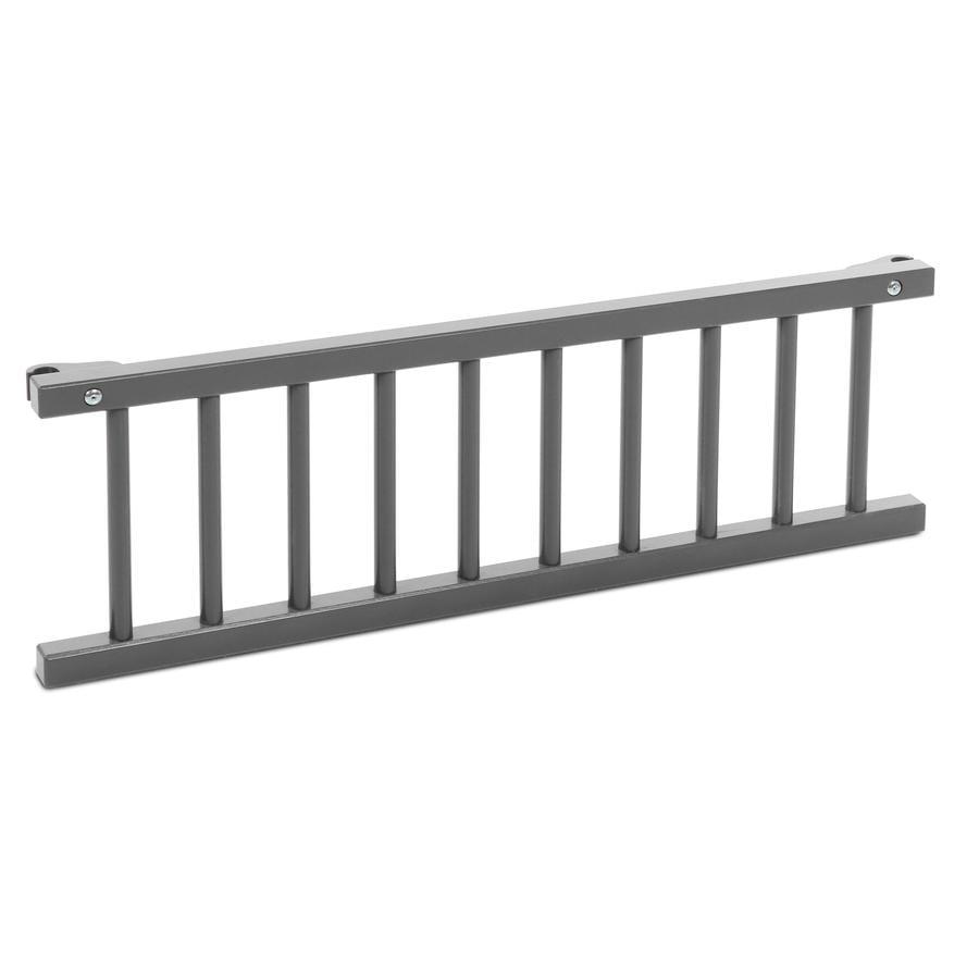 babybay verschlussgitter maxi boxspring schiefergrau. Black Bedroom Furniture Sets. Home Design Ideas