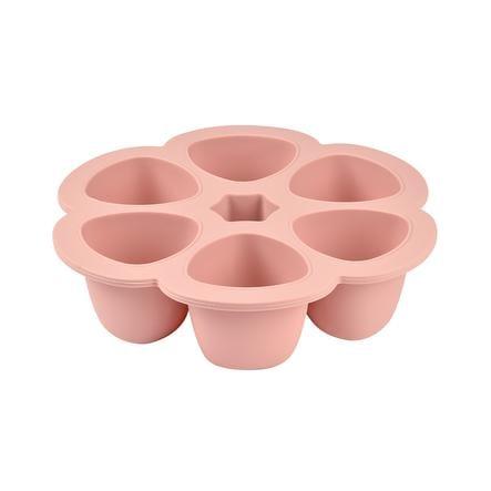 BEABA Pojemnik do przechowywania Multi porcje różowe 6 x 90 ml