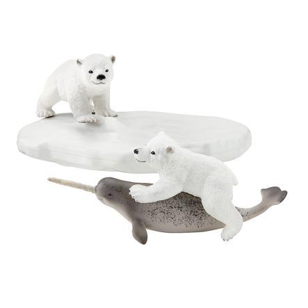 Schleich Wild Life - Eisbären-Rutschpartie 42531