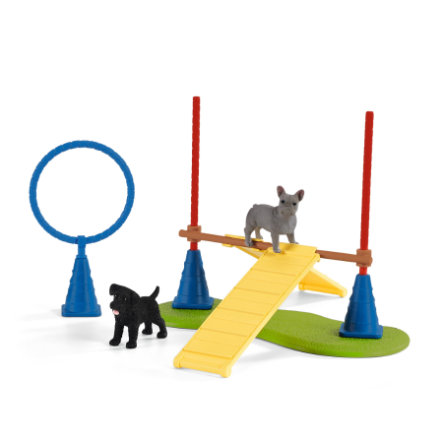 Schleich Farma World - Zábava pro psy 42536