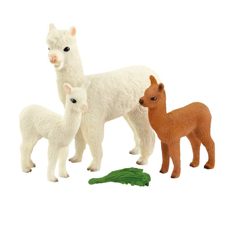 Schleich Alpakafamilie 42544