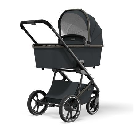 MOON Combi klapvogn Style Black Chrome Collection 2021