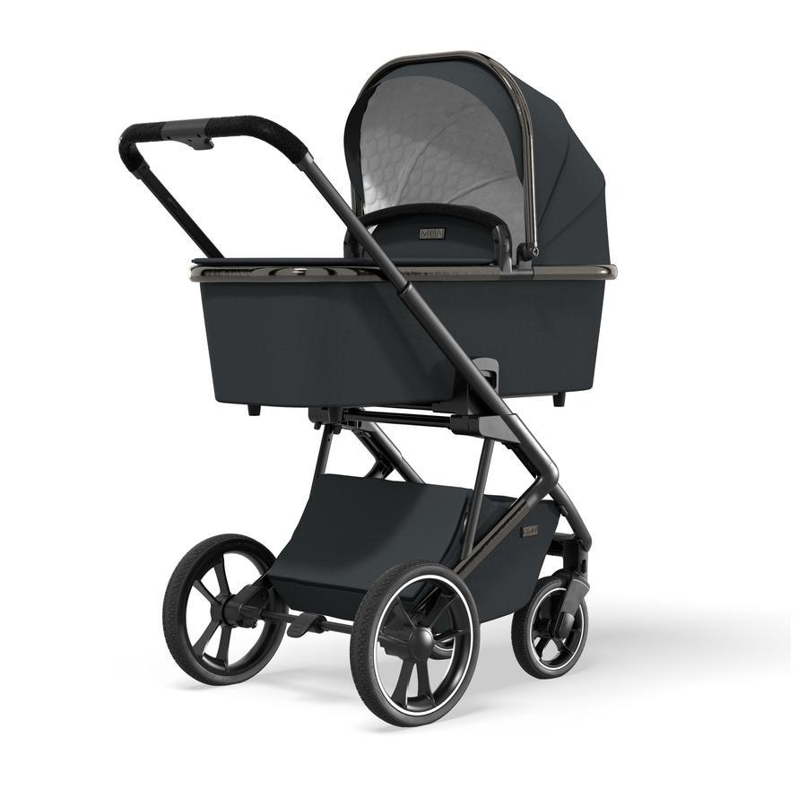 MOON Combi kinderwagen Style Black Chrome Collection 2021
