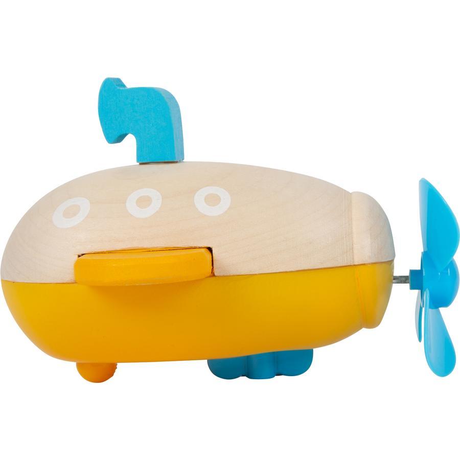 small foot  Submarino de juguete a cuerda