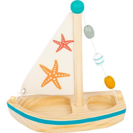 small foot  ® Barco de vela de juguete con estrella de mar