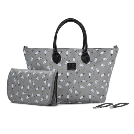 Kinderkraft Wickeltasche Mommy Bag Grey
