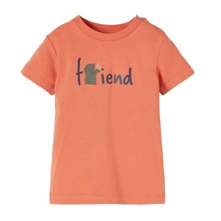 name it T-Shirt NBMDEFAM Apricot Brandy