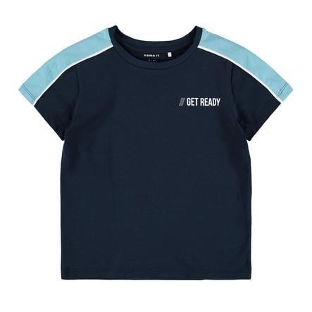 name it T-Shirt NMMDALLO Dark Sapphire