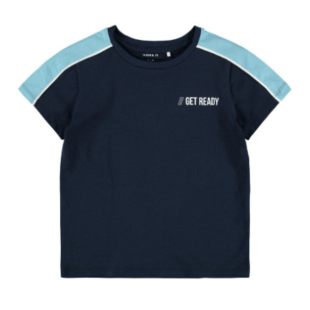 name it T-skjorte NMMDALLO Dark Sapphire