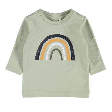 name it Lange mouwen shirt NBMDAFORM Woestijn salie