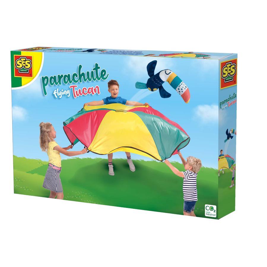 SES Creative® Schwungtuch fliegender Tukan