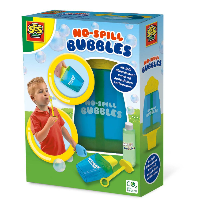 SES Creativ e® Bubble Container s ochranou proti úniku a Mega bubble