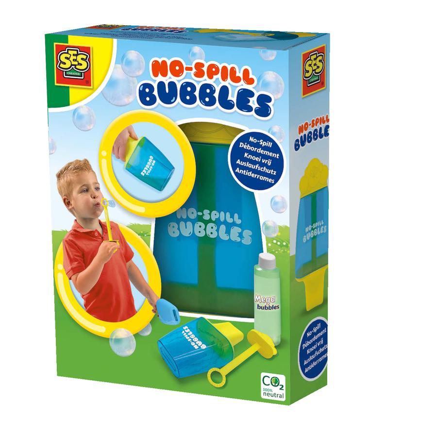 SES Creative® Seifenblasenbehälter mit Auslaufschutz und Mega bubbles
