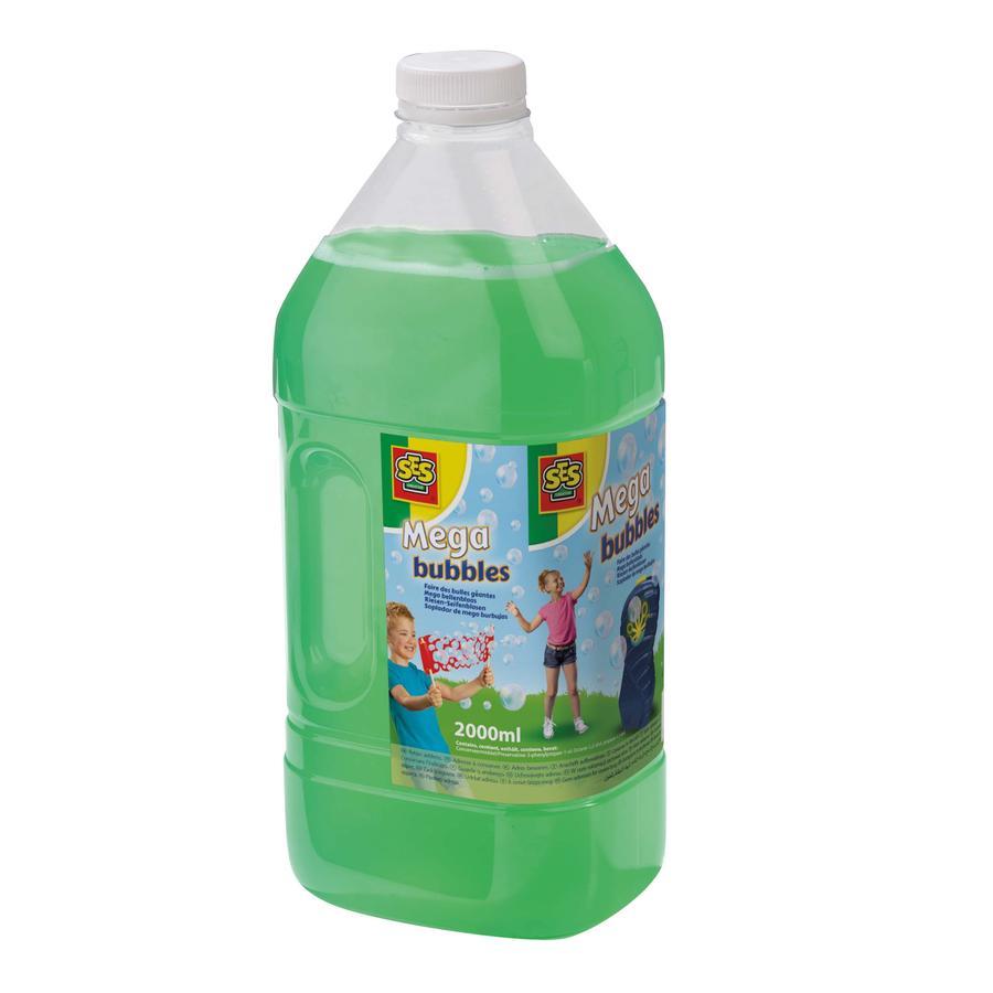 SES Creative® Mega bubbles - Nachfüllset 2000 ml