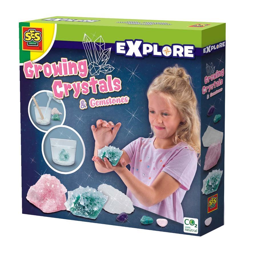 SES Creative® Kristalle und Edelsteine züchten