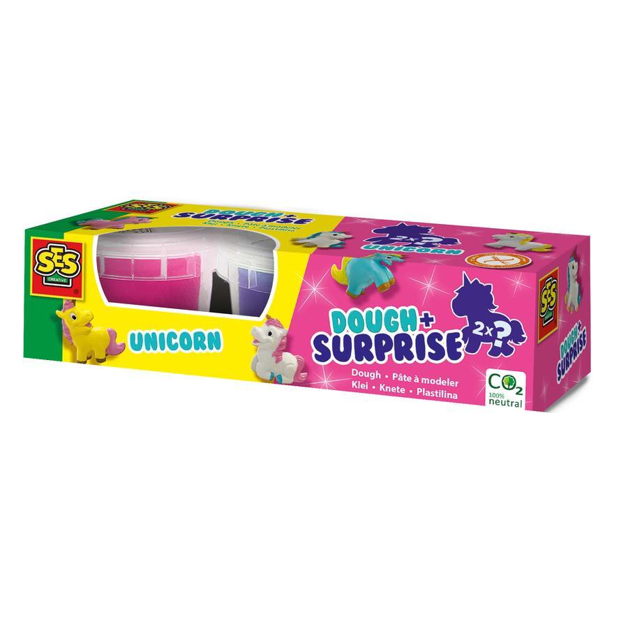 SES Creative® Knete mit surprise - Einhorn