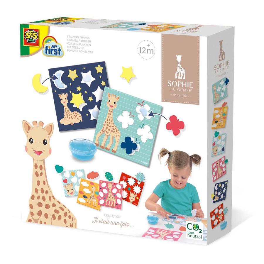 SES Creative® Sophie la girafe - Formen kleben