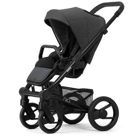 mutsy Kinderwagen Nio Rahmen Black Grey inklusive Sitz und Verdeck Explore Shade