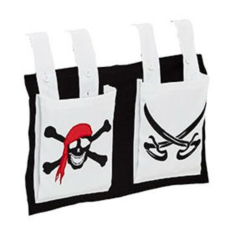 Relita Stofftasche für Hoch- und Etagenbetten Pirat