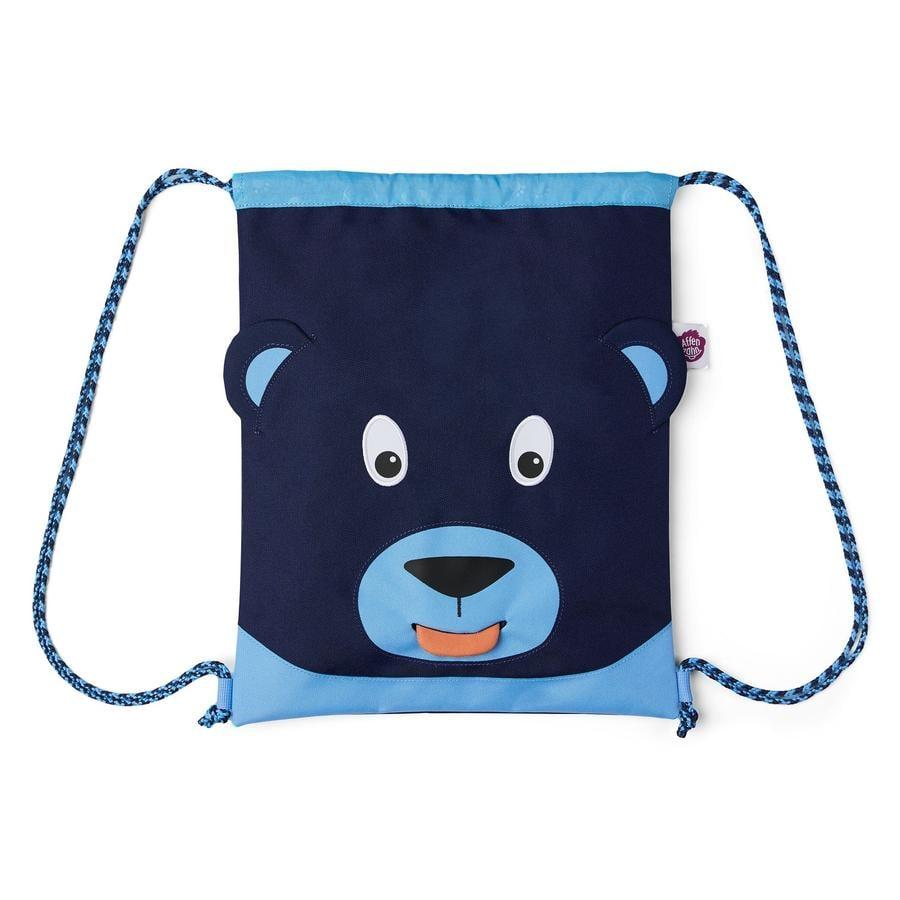Affenzahn Borsa da ginnastica: orso, blu