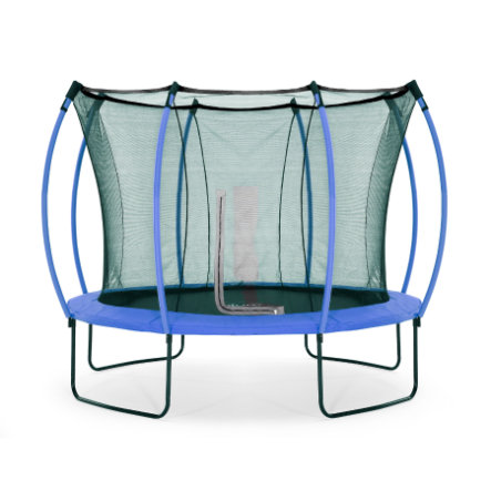 plum® Springsafe Trampolin Colours 305 cm mit Sicherheitsnetz, blau